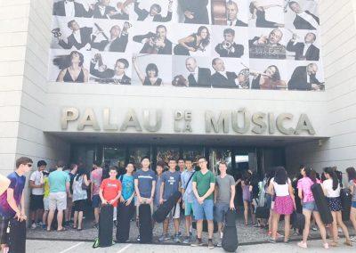 PYSO Members at Palau, Valencia