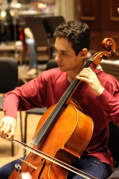 Noah Hertzman & 2019 Honor Orchestra of America!