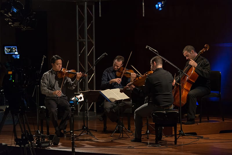 The Miró Quartet to Live Stream performances of the Complete Beethoven String Quartets
